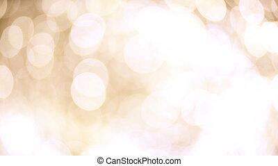 Blurred, bokeh lights background.