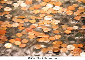 Blurred Coins