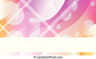 Blurred Decorative Design In Abstract Style With Wave, Curve Lines, Circle, Space for Text. Fluid shapes composition. For Design Flyer, Banner, Landing Page. Vector Illustration