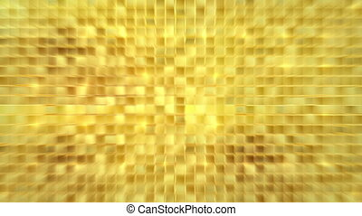 Blurred gold background loop