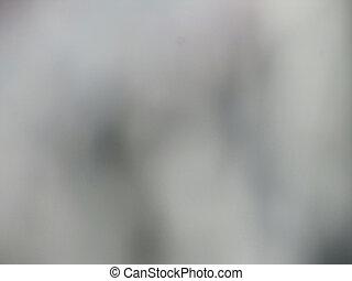 Blurred gray background