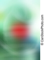 Blurred green colorful background texture