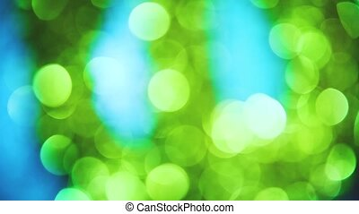 Blurred green lifestyle blue bokeh background sunlight saver wallpaper texture the wallpaper. light screensaver for your website new Year