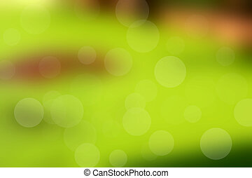 blurred green nature background