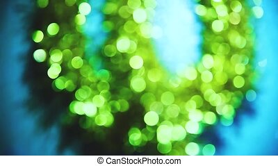 Blurred lifestyle green blue bokeh background sunlight saver wallpaper texture the wallpaper. light screensaver for your website new Year