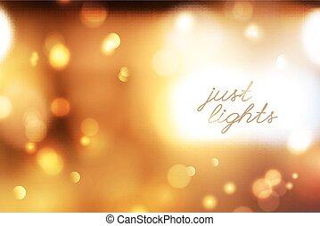 blurred lights background