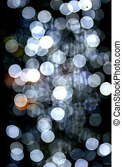 Blurred Lights - Blurred fairy lights for background use.