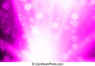 Blurred Lights on pink background or Lights on pink background.