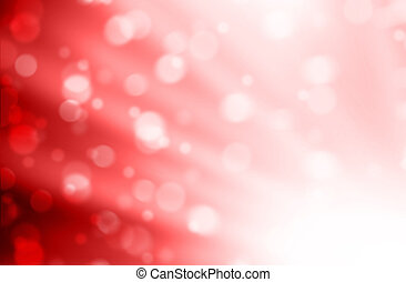 Blurred Lights on red background or Lights on red background.