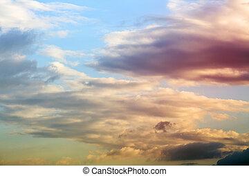 Landscape sky natural background blur  Landscape and nature blurred