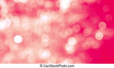 Blurred Pink Yellow Sparkles