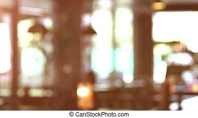 Blurred windows background.