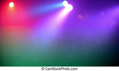 blurry multicolored abstract background with flashing colored lights