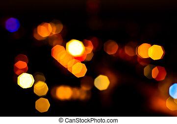blurry, semáforos