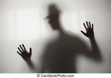 Blurry shadow