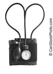 blutdruckmessgeräte, herz- form