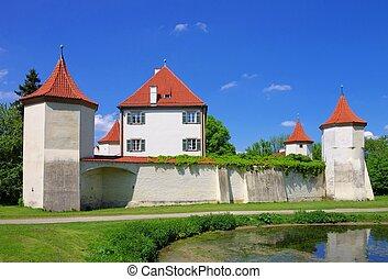 blutenburg, munich, palacio