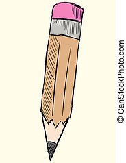 blyant, skitse