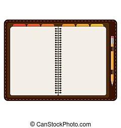 blyertspenna, öppnat, dagordning