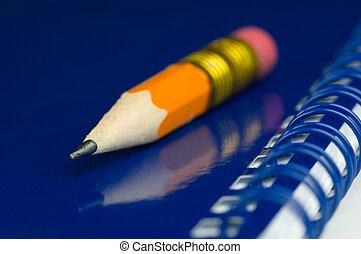 blyertspenna, kort