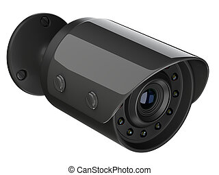 Blzck wireless security surveillance camera.