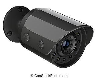 Blzck wireless security surveillance camera.