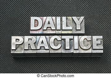 bm, 練習, 毎日