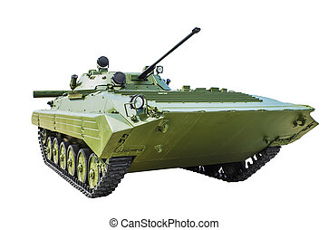 BMD-1 is a Soviet tracked infantry fighting vehicle