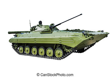 BMP-2 is a second-generation, amphibious infantry fighting vehicle