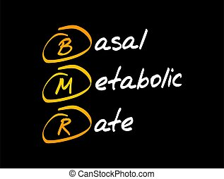 bmr, basal, -, metabolic, tasa, siglas