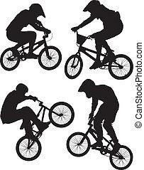bmx サイクリング