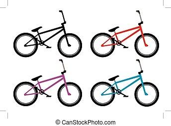 bmx bicikli, állhatatos