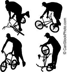 bmx, biker