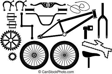 Boninbike bicicleta freno de disco balatas 2 par para Magura MT 2-8 orgánico