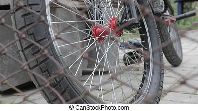 bmx vont bicyclette