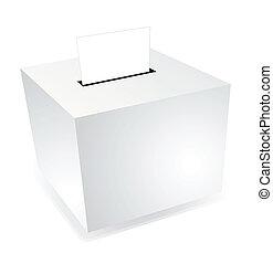 boîte, élection