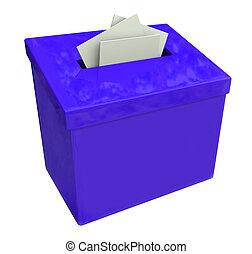 boîte bleue, idées, soumettre, comments, suggestion