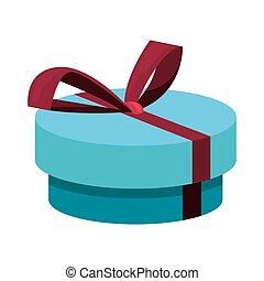 boîte, cadeau, célébration