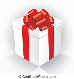 boîte, cadeau, (vector)