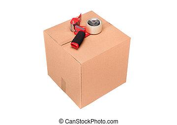 boîte, carboard