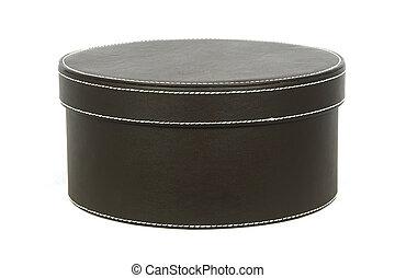boîte, chapeau