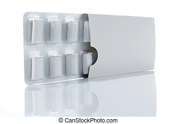 boîte, chewing gum