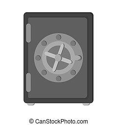 boîte, coffre-fort, sécurité, sûr, argent