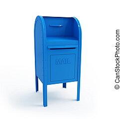 boîte, courrier