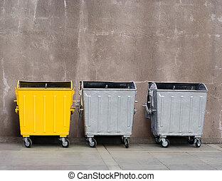 boîte, déchets