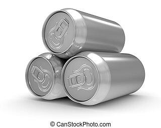 boîte de bière, aluminium