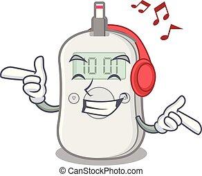 boîte, dessin animé, machine, musique écouter, médecine, chèque, diabète