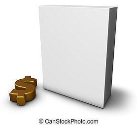 boîte, dollar
