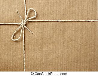 boîte, emballer, paquet