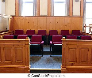 boîte, jury